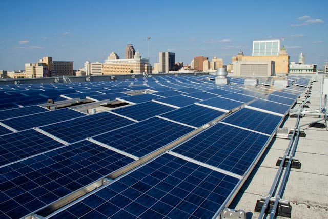 Downtown Campus Solar Panels Tseri