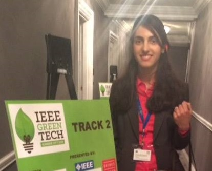 Student Spotlight: Marzieh Jafary  [2016 IEEE Annual Green Technologies Conference]